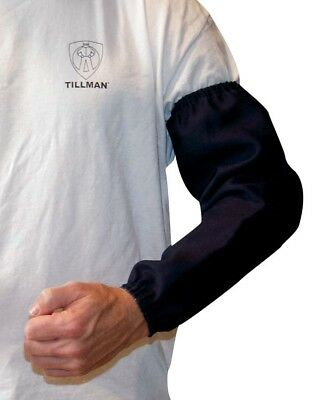 "Tillman  6218B 18"" Blue Flame Resistant Welding Sleeves"