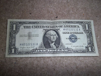 1957-A One Dollar Silver Certificate