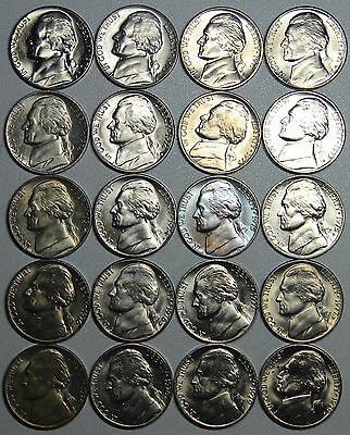 1971 P /& D JEFFERSON  NICKEL SET **FREE SHIPPING** 2 COINS