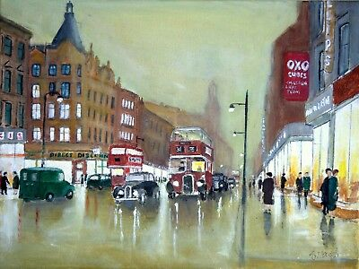 Art Original oil painting - A Moment in Time 1962 by Gary Haigh