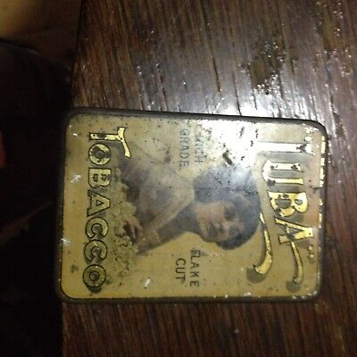 Tabbaco Tin  Luba Rare Limited High Class Official Australian Tin 1914