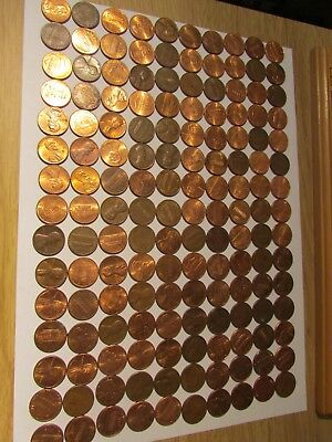 Approx 150  Usa Cent  Coins  Uk Delivery Only