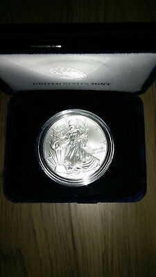 2017 American Silver Eagle in U.S. Mint Gift Box
