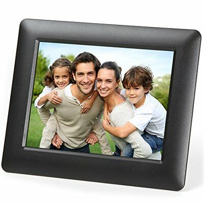 """Digital Photo Frame Picture High Resolution 7""""LCD SD/USB Perfect Christmas Gift"""