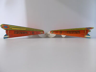 Vintage Paper Plane Advertising  MIDDY BREAD  E.O. Walters Table Grove Ill