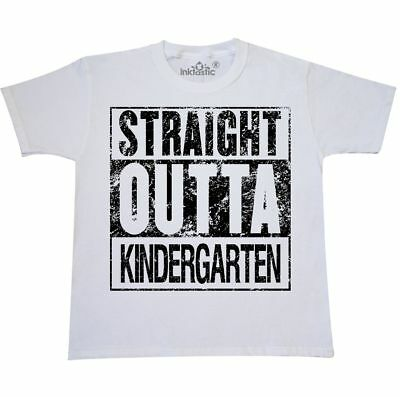 Inktastic Straight Outta Kindergarten Youth T-Shirt Graduation Kids Grads School