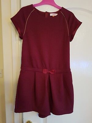 Girls ted baker playsuit age 12-13