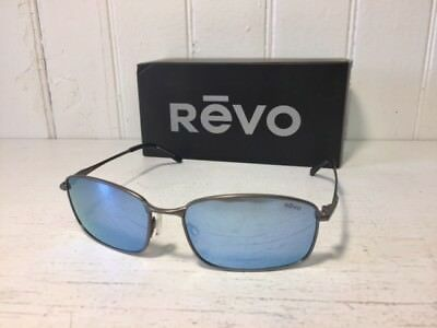 REVO RE5004X 00 BL SCOUT Gunmetal Frame w/ Blue Water POLARIZED Lens Sunglasses