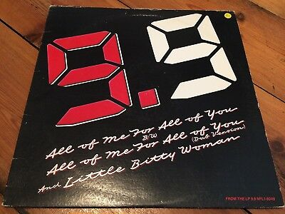 """12"""" Maxi Single 9.9 – All Of Me For All Of You *US-IMPORT,1985"""