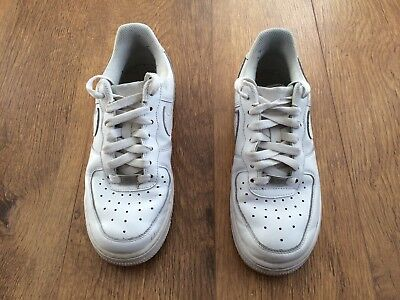 Nike Air  Air Force I  White Trainers Uk:4 Eur:37.5