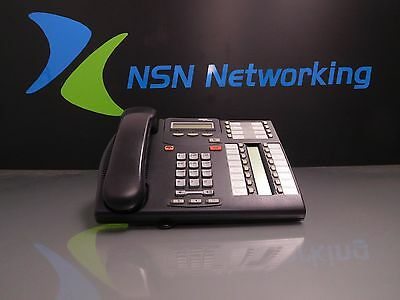 Nortel Networks Norstar Meridian T7316E NT8B27 Charcoal Phone