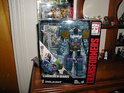TRANSFORMERS GENERATIONS combiner wars voyager class ONSLAUGHT FIGURE  NEW