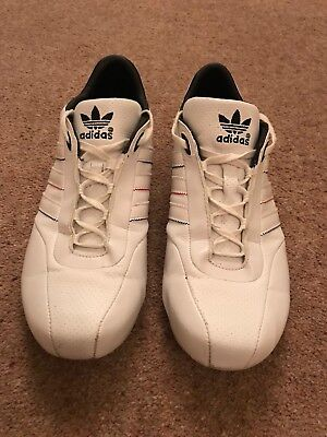 Mens White Adidas Porsche Design Trainers UK Size 8