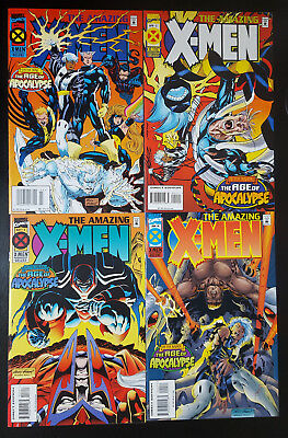 Amazing X-Men #1-4 Complete Set (1995, Marvel) 2 3 Full Run Age of Apocalypse