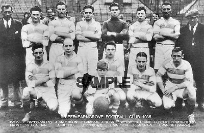 Crieff Earngrove FC 1935 Team Photo