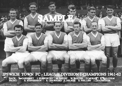 Ipswich Town FC 1961-62 Team Photo