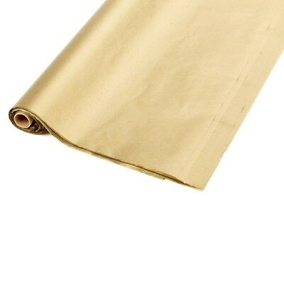 Tissue Paper On A Roll In Gold Floral Christmas Wrapping Oasis Sku 41-01047