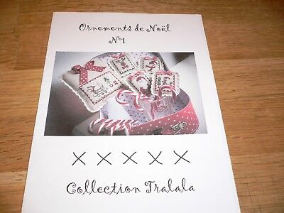 Stickvorlage * Collection Tralala* Kreuzstich * Weihnachten *Ornament de Noel N1