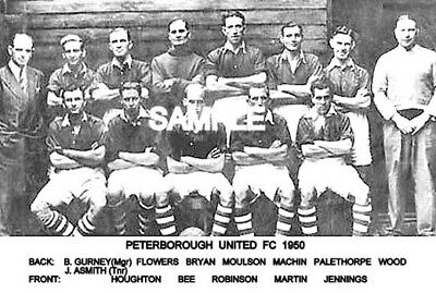 Peterborough Utd FC 1950 Team Photo