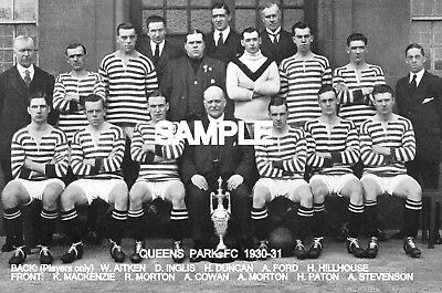 Queens Park FC 1930 Team Photo