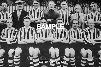 Exeter City FC 1936 Team Photo