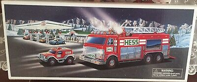 2005 Hess Emergency Truck with Rescue Vehicle;  New in box.