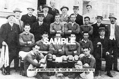 Heart of Midlothian FC 1914 Tour Team Photo