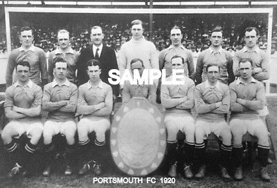 Portsmouth FC 1920 Team Photo