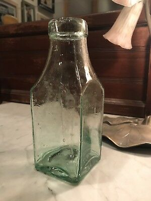 Antique Bottle: Cathedral Pickle Bottle