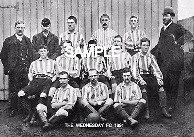 The Wednesday FC 1891 Team Photo
