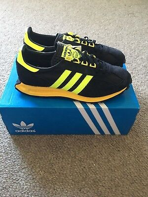 Bnib Deadstock Adidas Racing 1.0 S79137 Uk9/us9.5/eu43 1/3 - 2016 Black/yellow