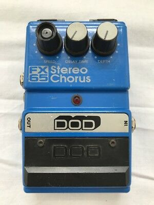 VGC c1987 DOD FX65 Stereo Chorus Guitar Effect Pedal - Made in USA!!