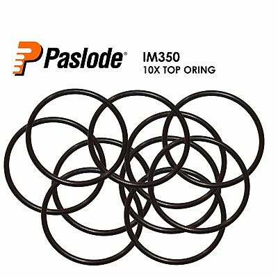 PASLODE SPARE PARTS - 10 x REPLACEMENT TOP ORING FOR FOR IM350