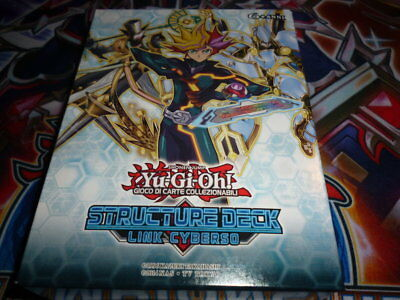 Structure Deck LINK CYBERSO  _ YU GI OH SDCL _ ITA _ MAZZO YGO LINK CYBERSE