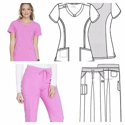 Cherokee Infinity Antimicrobial Protection>Women>Pant or Top>2624A - 1123AP LIPK