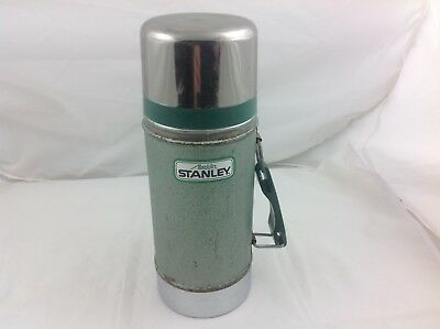 VINTAGE STANELY ALADDIN A 1350 B 24 oz WIDE MOUTH THERMOS GREEN 1993