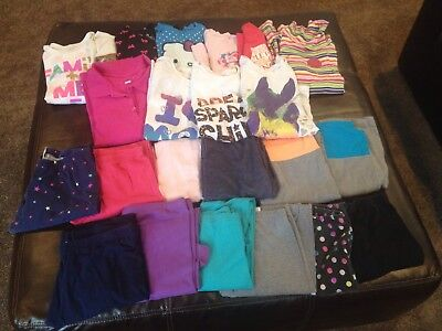 23 PC Girls Size 14/16 Fall Winter Shirts Pants Leggings School Clothes Lot