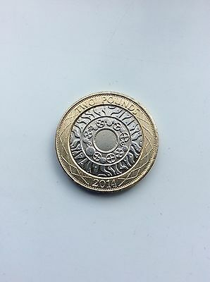 2014 £2 coin STANDING on the SHOULDERS of GIANTS