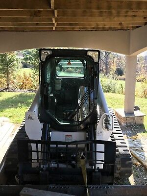 2016 Bobcat T650 Tracked Skid Steer Loader only 137 hours
