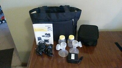Medela Pump in Style Advanced Double Electric Breast Pump w/ Tote