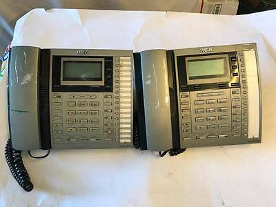 Lot of Two RCA Executive Series 4-Line System Phones! (25414RE3-A)