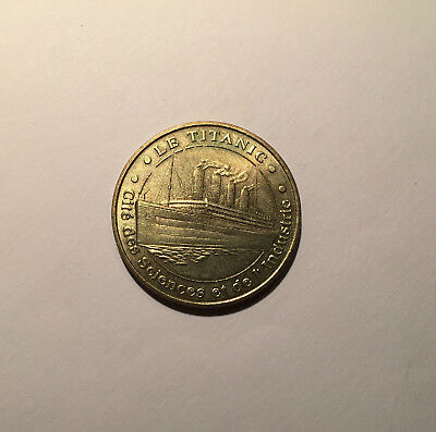 LE TITANIC 2003 CITE des SCIENCES - MONNAIE de PARIS / MEDAILLE OFFICIELLE -