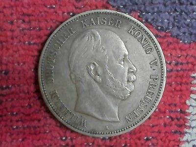 1874-A German 5 Marks  Silver.......99  Cent  Start.....nr...#47