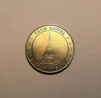 TOUR EIFFEL PARIS 2000 - MONNAIE de PARIS / MEDAILLE OFFICIELLE -