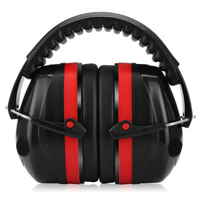 Black Ear Muff Hearing Protection For Shooting Hunting Loud Noise Reduction 32dB