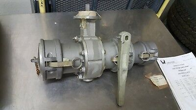 LaBarge 4 inch cam lock 4 in butterfly valve reduced 3in