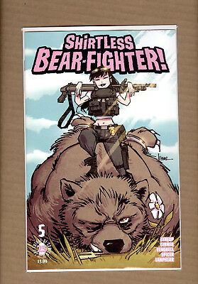 Shirtless Bear-Fighter #5  Jesse James Variant Limited To 500 Image Comics Nm+