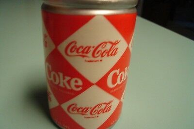 Coca Cola Christmas Ornament ~  1960s Diamond Pattern Can ~