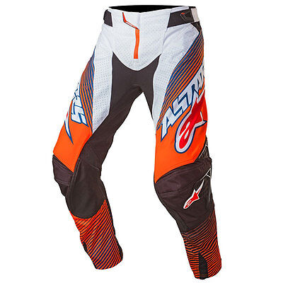 2017 Alpinestar Techstar Factory Orange Pants adults
