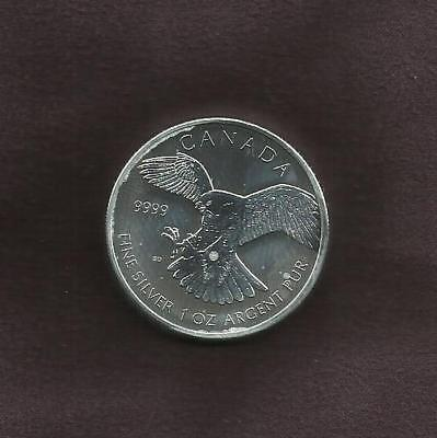 1 OZ Silver 9999 -  Canadian Set Birds of Prey - 2 of 4 - View Others
